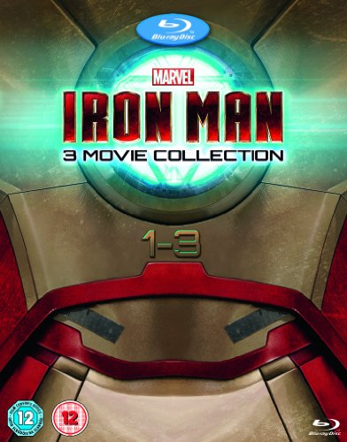 Iron Man 1-3 Complete Collection