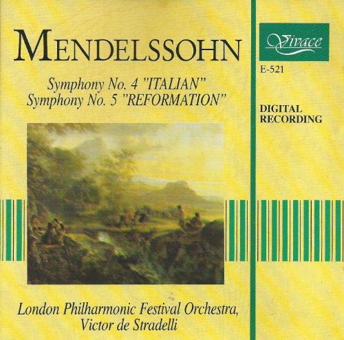 Mendelssohn Symphony No. 4 & Symphony No. 5