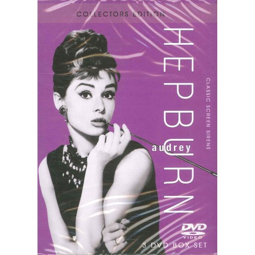 Audrey-Hepburn-Collectors-Edition-3-DVD-Box-Set-Roman-Holiday-Bre-CD-76VG