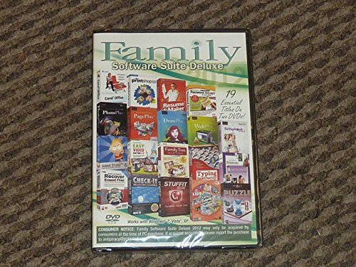 Family Software Suite Deluxe 2012