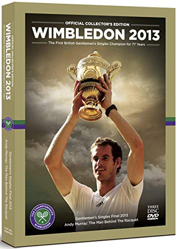 Wimbledon: Official 2013 Collector's Edition (Includes Men's Final and The Man Behind the Racquet BB