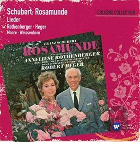 Anneliese Rothenberger / Robert Heger, Gerald Moore, Gunther Weissenborn - Schubert: Rosamunde - Lie