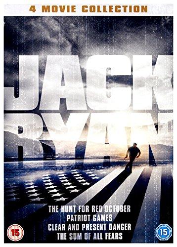 Jack Ryan 4 Movie Collection DVD