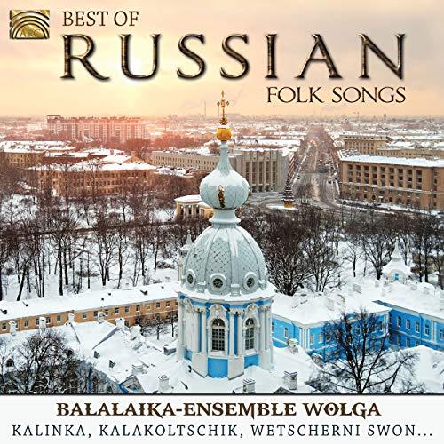 Balalaika-Ensemble Wolga - Best Of Russian Folk Songs By Balalaika-Ensemble Wolga
