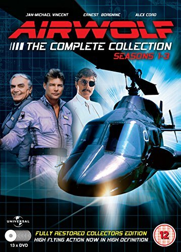 Airwolf - The Complete Collection:Seasons 1-3 - 13 DVD Set