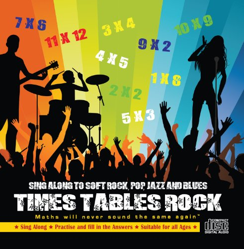 Education Box - Times Tables Rock Audio CD. Maths will never sound the same again™.