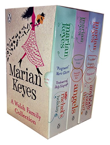 A Walsh Family Collection Set (Rachels Holiday / Angels / Anybody out There) By Marian keyes