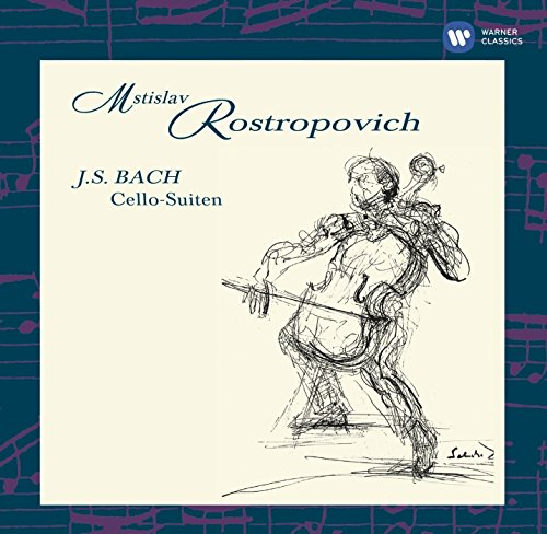 Mstislav Rostropovich - Bach: The Cello Suites By Mstislav Rostropovich