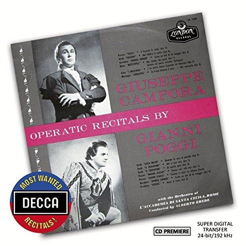 Gianni Poggi - Operatic Recitals By Giuseppe Campora & Gianni Poggi (Decca Most Wanted Recitals) By Gianni Poggi
