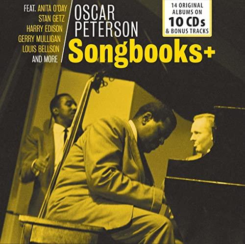 Oscar Peterson - Songbooks: 14 Original Albums on 10 CDs & Bonus Tracks