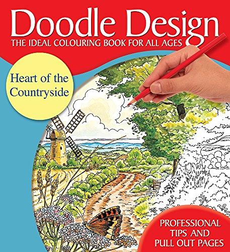 Doodle Design Pad - Heart of the Countryside