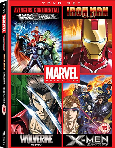 Marvel Anime Collection