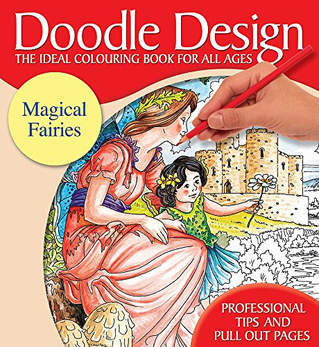 Doodle Design Pad - Magical Fairies