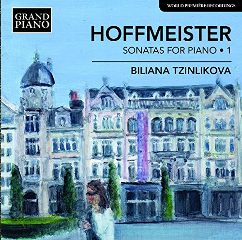 Biliana Tzinlikova - Hoffmeister: Sonatas For Piano Vol. 1