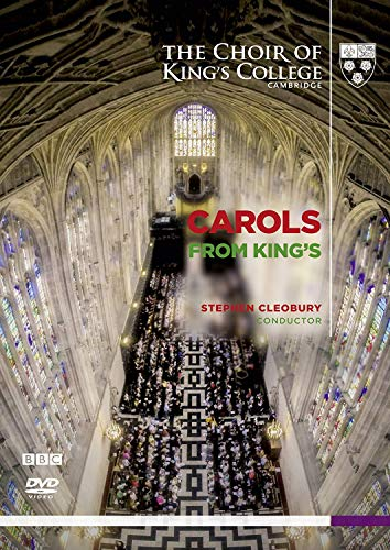 Carols from King's - The Choir of King's College Cambridge  DVD]