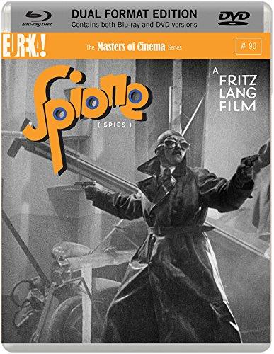 Spione  Dual Format (Blu-ray & DVD) (1928)