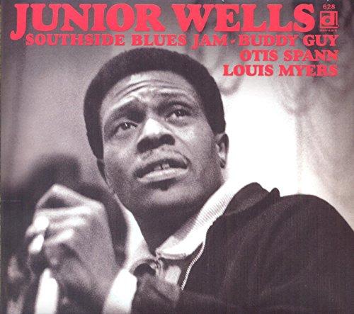 Junior Wells - Southside Blues Jam + unissued performances + booklet By Junior Wells