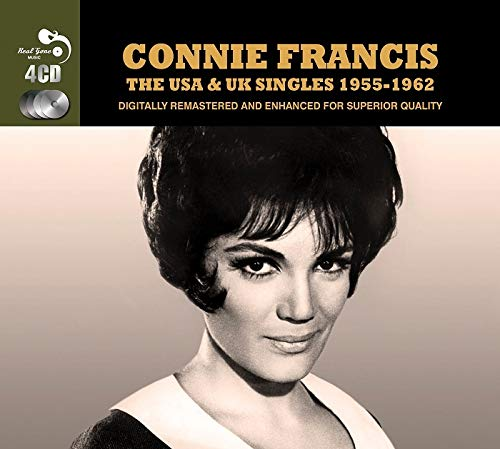 Francis, Connie - USA and UK Singles.. By Francis, Connie