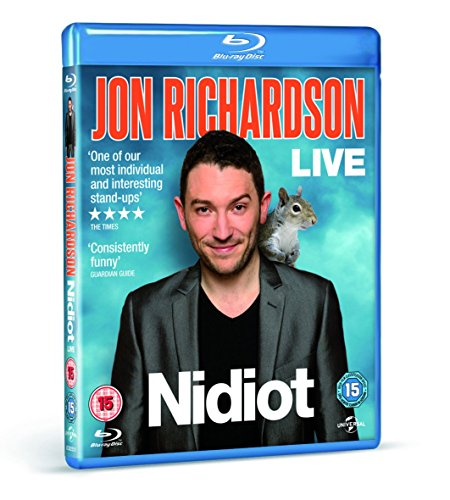Jon-Richardson-Nidiot-Live-Blu-ray-CD-FGVG-FREE-Shipping