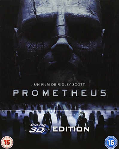 Prometheus 3D (Includes 2D Version and Extra Blu-Ray Bonus Material) - Limited Edition Steelbook Blu