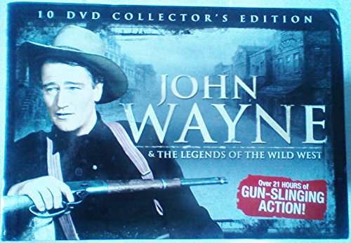 John Wayne And The Legends Of The Wild West - 10 Dvd Boxset
