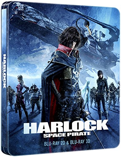 Harlock Space Pirate Collectors Edition Steelbook 3D/2D