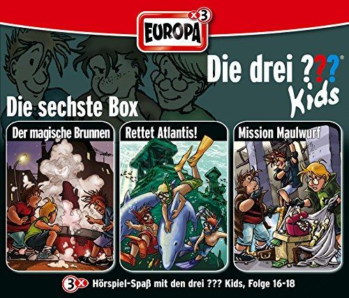 Die Drei ??? Kids - 06/3er Box-Folgen 16-18 By Die Drei ??? Kids