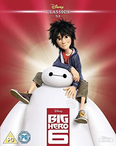 Big-Hero-6-Blu-ray-Region-Free-CD-GOVG-FREE-Shipping
