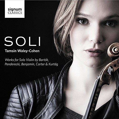 Tamsin Waley-Cohen - Soli: Solo Works for Violin By Tamsin Waley-Cohen