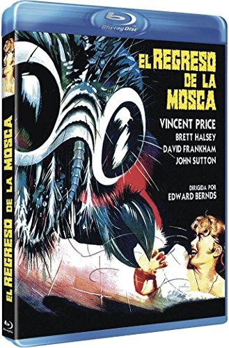 RETURN OF THE FLY - Blu-Ray (el regreso de la mosca) - Region B - PAL Vincent Price