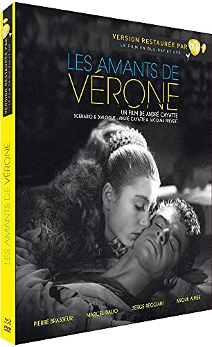 The Lovers of Verona ( Les amants de Vérone ) (Blu-Ray & DVD Combo) [ Blu-Ray, Reg.A/B/C Import - Fr