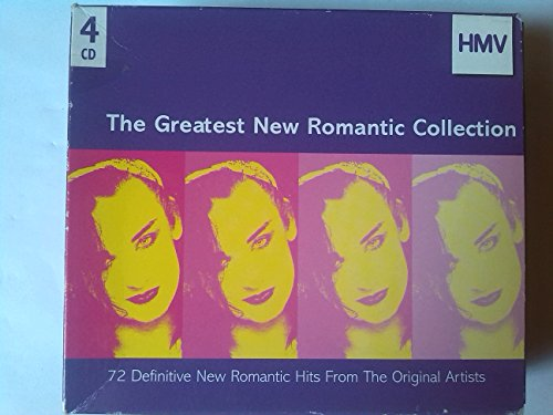 Various - The Greatest New Romantic Collection - 4 x CD box set By Various