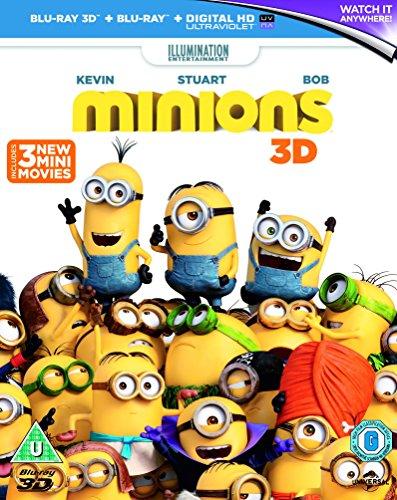 Minions (Blu-ray 3D + Blu-ray + UV Copy)