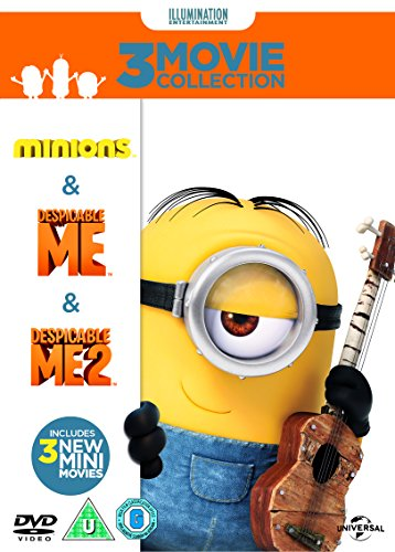 Minions-Collection-Despicable-Me-Despicable-Me-2-Minions-DVD-CD-9OVG