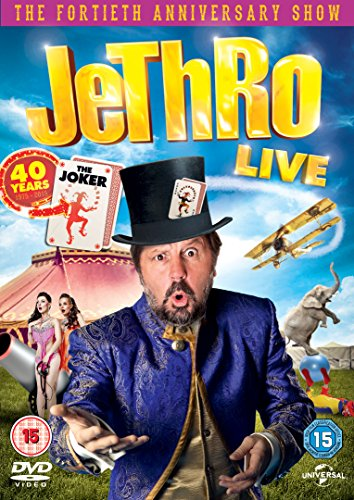 Jethro-Live-40-Years-the-Joker-DVD-2015-CD-EQVG-FREE-Shipping