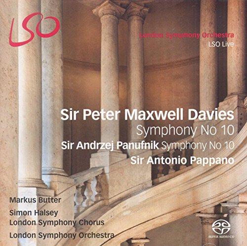 London Symphony Chorus - Sir Peter Maxwell Davies: Symphony No. 10; Sir Andrzej Panufnik: Symphony N By London Symphony Chorus