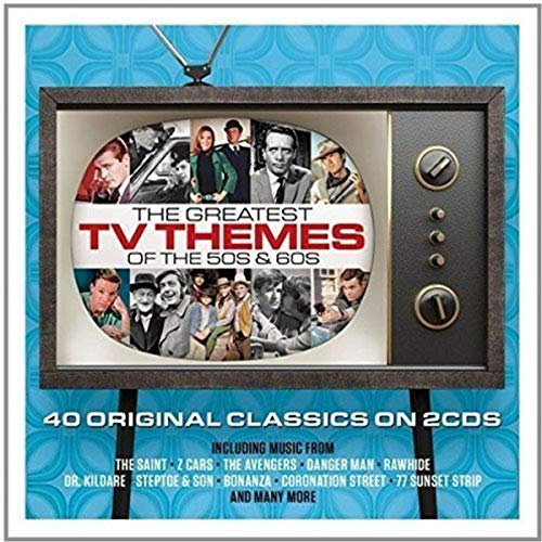 Various Artists - The Greatest TV Themes Of The 50s & 60s By Various Artists