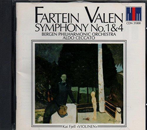 Fartein Valen - Symphony N° 1 & N° 4