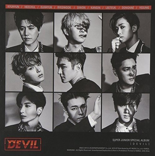 Super Junior - Devil By Super Junior