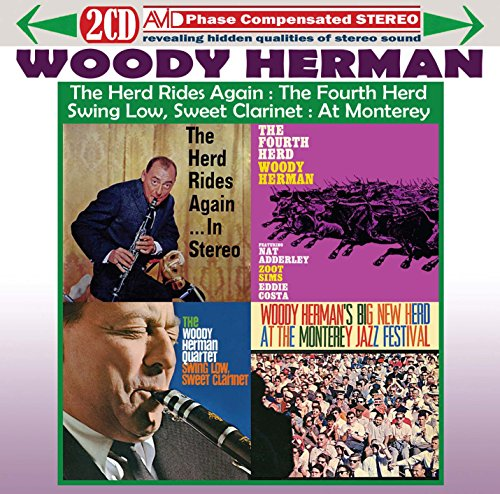 Woody Herman - Four Classic Albums (The Herd Rides Again In Stereo / The Fourth Herd / Swing Low, Sw By Woody Herman