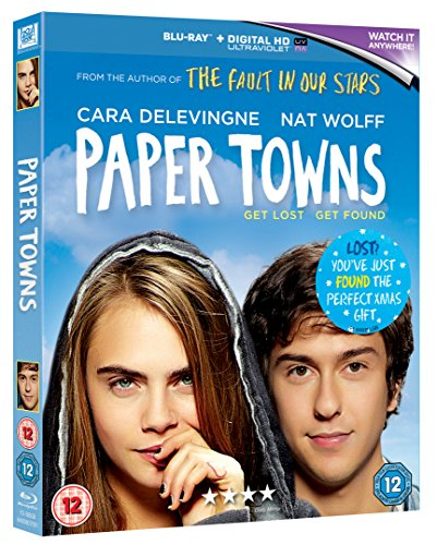 Paper-Towns-Blu-ray-2015-CD-JEVG-FREE-Shipping