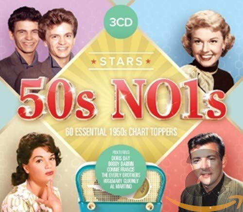 Various Artists - Stars: 50s No.1s - 60 Essential 1950s Chart Toppers