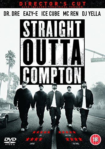 Straight Outta Compton [DVD] - DVD  6SVG The Cheap Fast Free Post