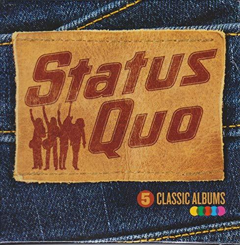 Status Quo - 5 Classic Albums By Status Quo