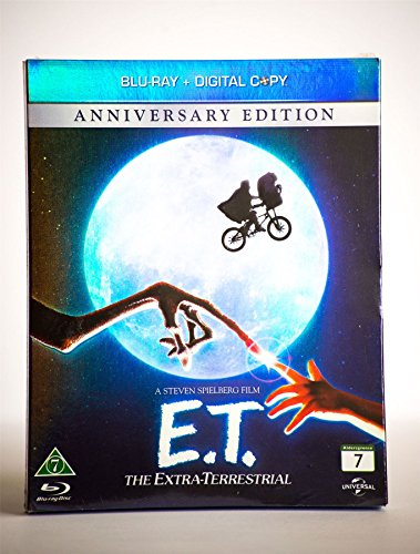 E.T. The Extra Terrestrial blu ray Nordic import English Audio