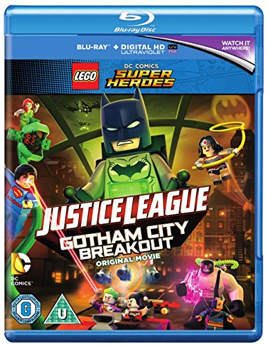 LEGO DC Justice League: Gotham City Breakout (Includes Nightwing Minifigure) [Includes Digital Downl