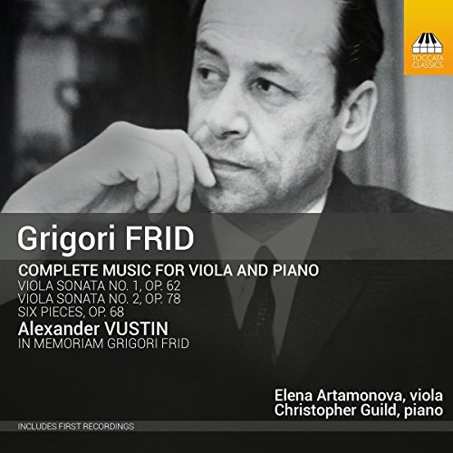 Christopher Guild - Complete Music For Viola & Piano  [TOCCATA By Christopher Guild
