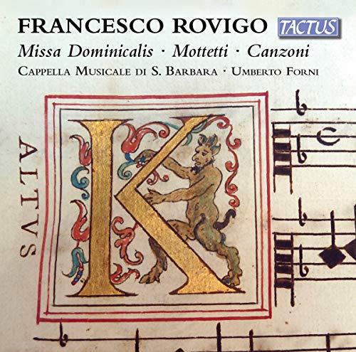 Cappella Musciale di S. Barbara - Rovigo:Missa Dominicalis [Cappella Musciale di S. Barbara, Umberto By Cappella Musciale di S. Barbara