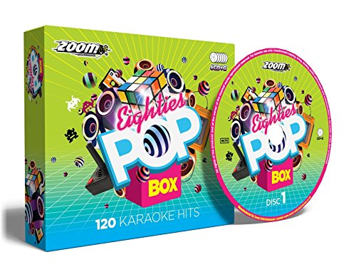 Zoom Karaoke - Zoom Karaoke Eighties Pop Box Party Pack - 6 CD+G Box Set - 120 Songs By Zoom Karaoke