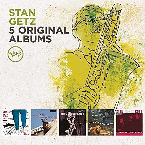 Stan Getz - 5 Original Albums By Stan Getz